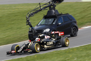 Lotus F1 at Brands Hatch. Lotus E23 Hybrid.